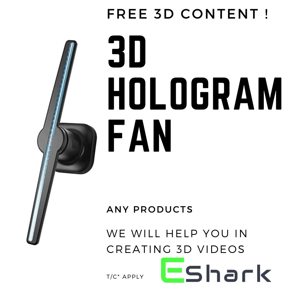 3D_hologram_Fan_in_india
